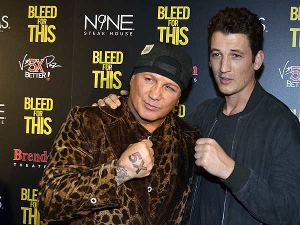 Vinny Paz and Miles Teller - Photo credit: Stephen Thorburn